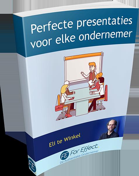 Perfecte Presentaties voor elke Ondernemer - kaft