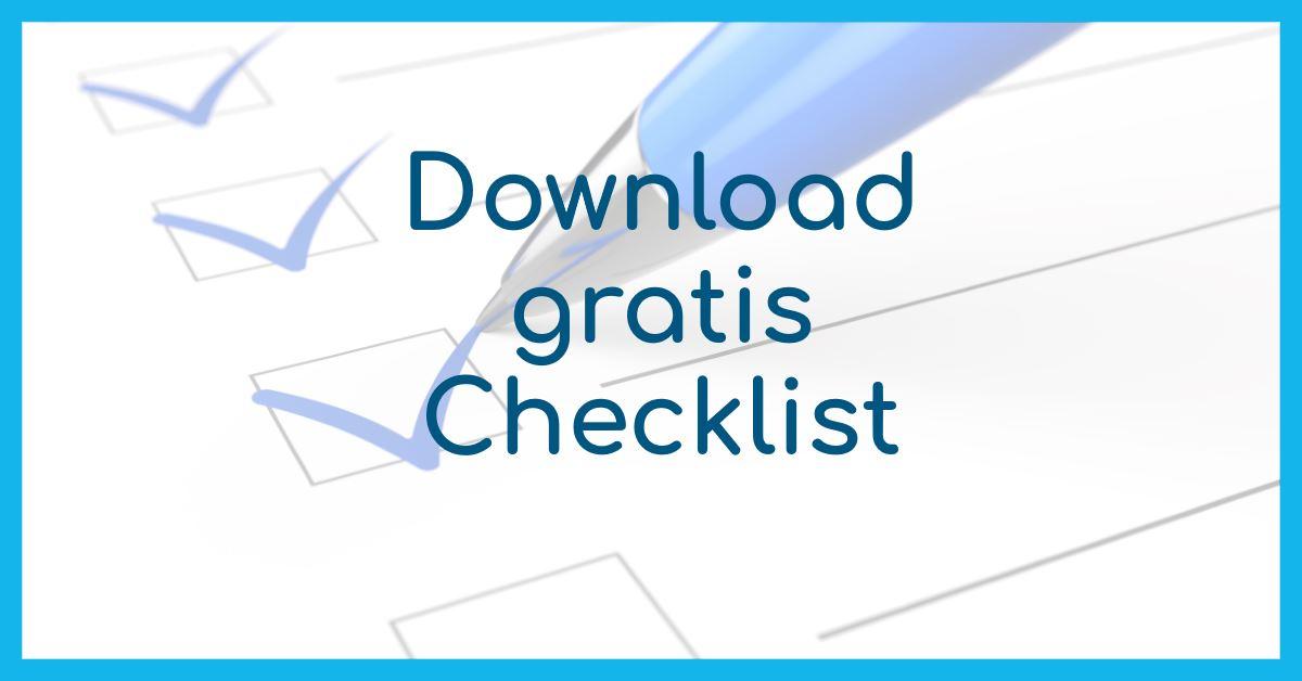 Checklist Communicatie